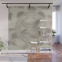 Delicate butterfly wind creation Wall Mural