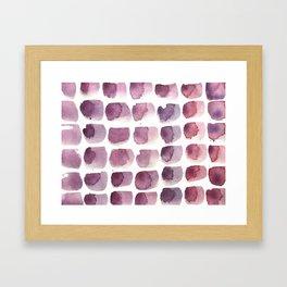 brushstrokes Framed Art Print