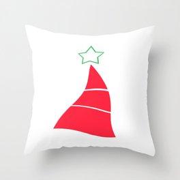 Time Warp Christmas Throw Pillow