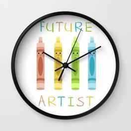 Future Artist Wall Clock