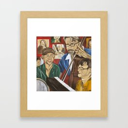Jazz Orgy Framed Art Print