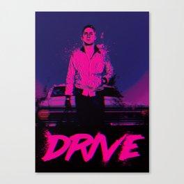 Drive (Nightcall) Canvas Print