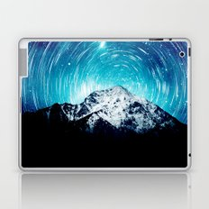 Between the galaxy and the mountain Laptop & iPad Skin