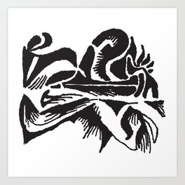 On the Keys Art Print