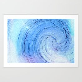 Ice Spiral Art Print