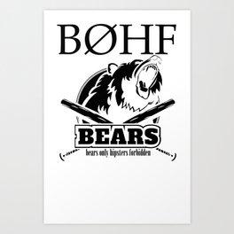 bears II Art Print