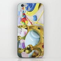 crown iPhone & iPod Skins featuring Crown by Faith Buchanan