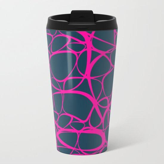 Abstract No6 Metal Travel Mug