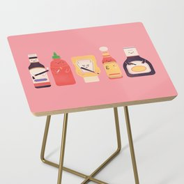 Ex-Condiments Side Table