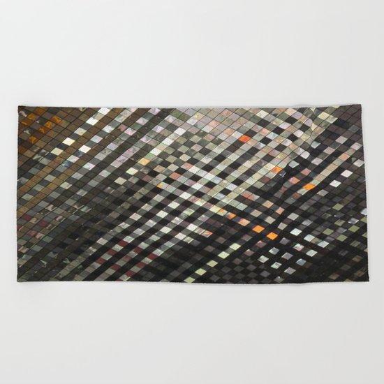 Checkered Reflections II Beach Towel