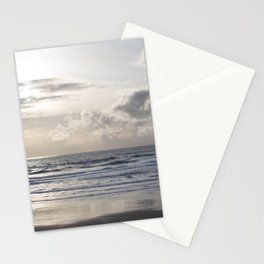 Silver Scene ~ Paint Daubs Effect Stationery Cards