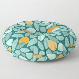 Sunny Orange Grove Floor Pillow