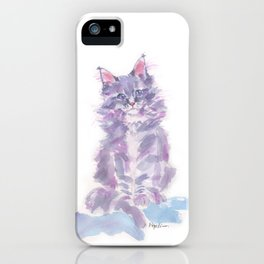 Little Violette iPhone Case