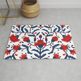 Mexican Floral Rug