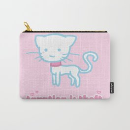 Taxation Is Theft Kitty Carry-All Pouch