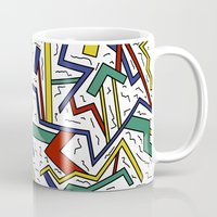 90s Mugs featuring 90s or Bust by Calepotts