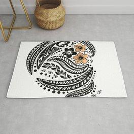 Polynesian Tribal Rug