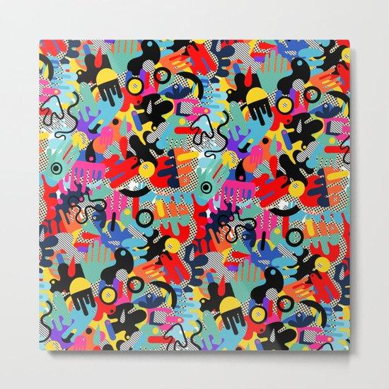 Color blobs 002 Metal Print