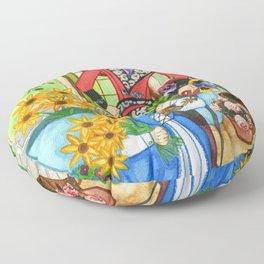 The Mandrake Root Floor Pillow