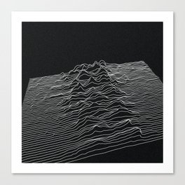 VIBES Canvas Print