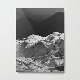 Matanuska Glacier Hikers, Alaska Metal Print