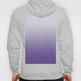 Ombré Ultra Violet Gradient Motif Hoody