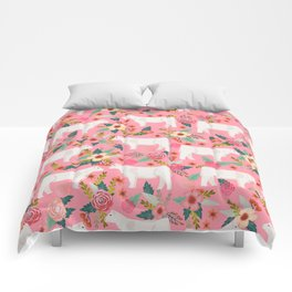 Charolais cattle farm must have gifts homesteader cow breeds florals Comforters