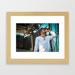 Lil Uzi Vert Live Framed Art Print