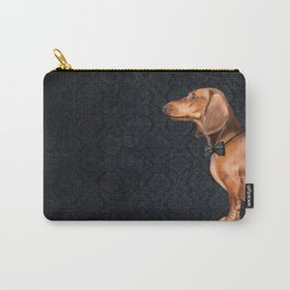 Elegant dachshund. Carry-All Pouch