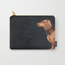 Elegant dachshund. Carry-All Pouch
