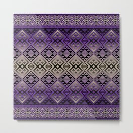 The Lodge (Purple) Metal Print