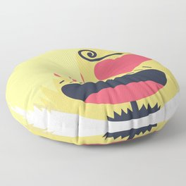 Sanji Emoji Design Floor Pillow