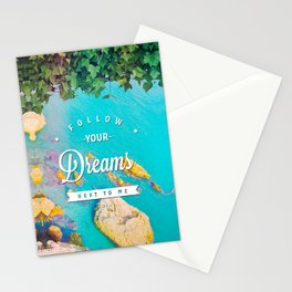 Follow Your Dreams (Nerja) Stationery Cards