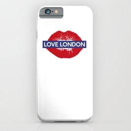 yeah baby, Love London iPhone Case