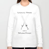 thorin Long Sleeve T-shirts featuring Thorin Oakenshield : Loyalty by Circus Doll