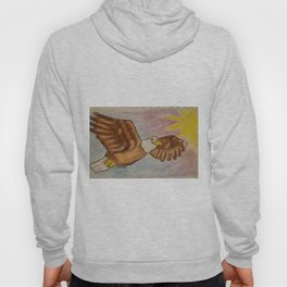 Eagle flying Hoody
