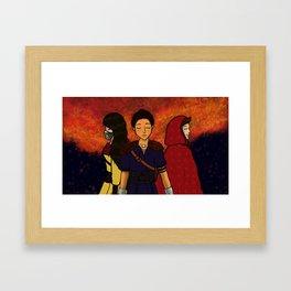 TW Fairy tale Au  Framed Art Print