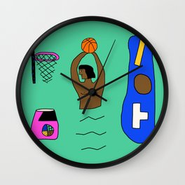 SLAM DUNK  Wall Clock