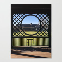 Autumn at the International Tennis Hall of Fame Canvas Print