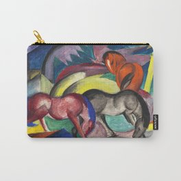 "Franz Marc ""Three Horses"" Carry-All Pouch"