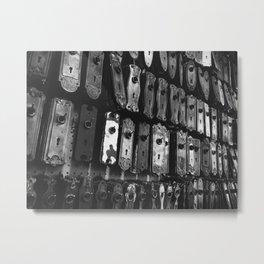 Lock & Key Metal Print