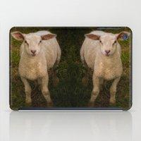 lamb iPad Cases featuring Lamb by Guna Andersone & Mario Raats - G&M Studi