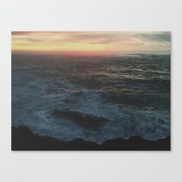 Ocean Color Canvas Print