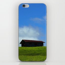 All Alone On The Hill iPhone Skin
