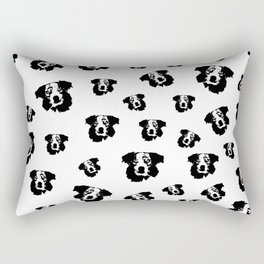 Christmas  gifts of the Australian Shepherd Dog for you from Monofaces in 2020 Rectangular Pillow