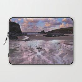 Trevone Bay, Cornwall, England, United Kingdom Laptop Sleeve