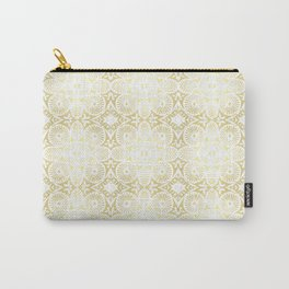 gilded flower power Carry-All Pouch