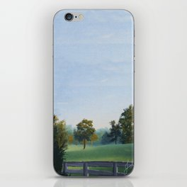 Country Morning in Tennessee iPhone Skin