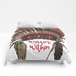 Warrior Within Head Dress Comforters