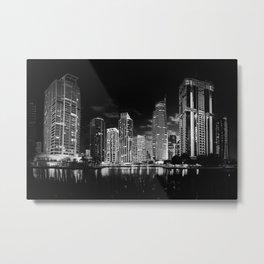 Dubai Lights Metal Print